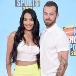 Nikki Bella and Artem Chigvintsev