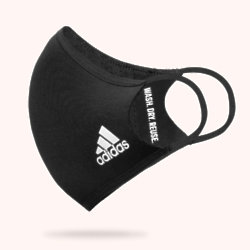 Adidas has launched stylish reusable face masks