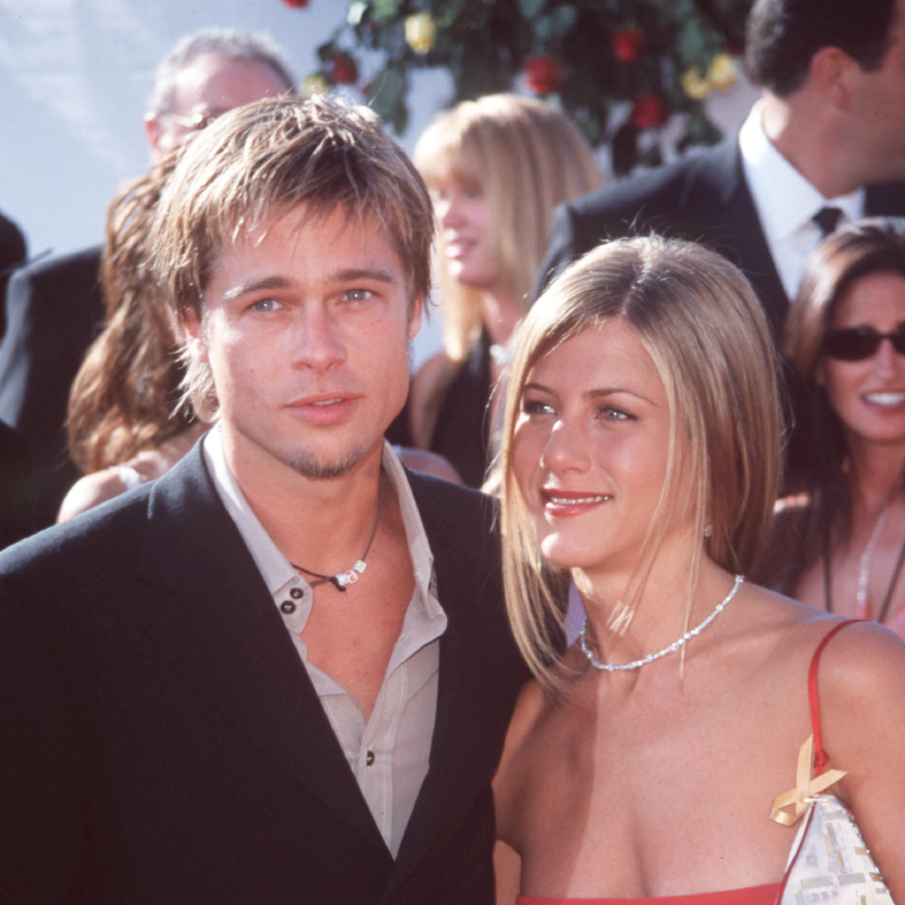 Celebrity Wedding Anniversary Brad Pitt And Jennifer