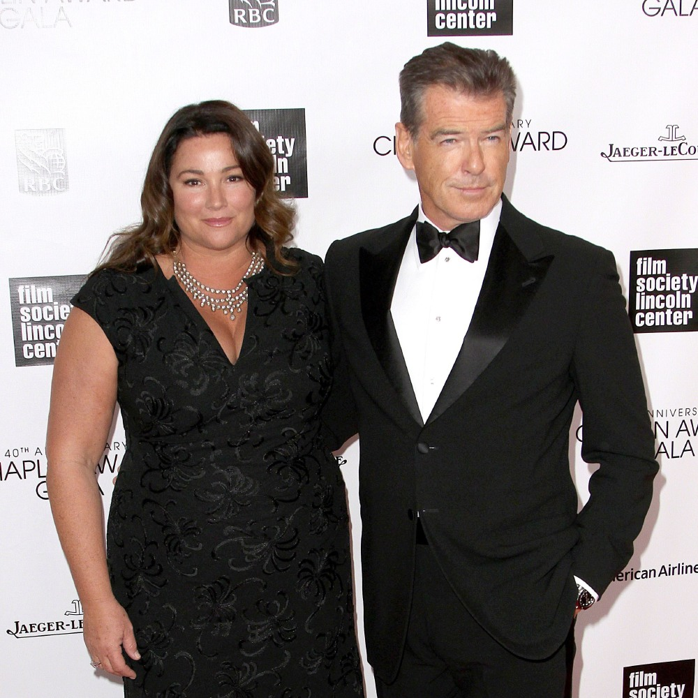 Pierce Brosnan And Keely Shaye Smith Credit Famous