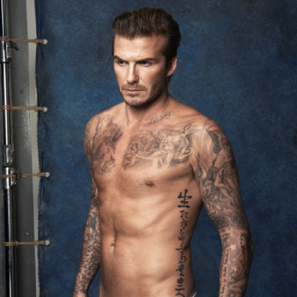 David Beckham is top of the table.