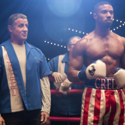 Sylvester Stallone and Michael B. Jordan star in CREED II