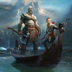 Kratos returns, alongside his son, Atreus
