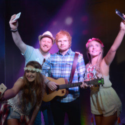 Ed Sheeran at Madame Tussauds Blackpool